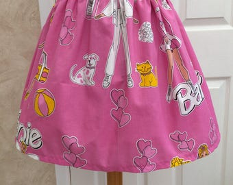 Retro Style Barbie Skirt 28-32 inch waist