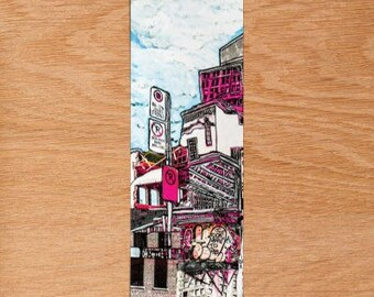 Bookmark for book No Parking in city Collection symbiosis Confussion table