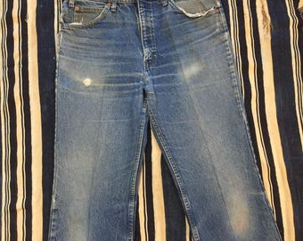 Vintage 1980s Levis 517 Jeans Size 33x32(Measured) Made In USA