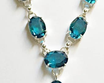 Beautiful Iolite Necklace