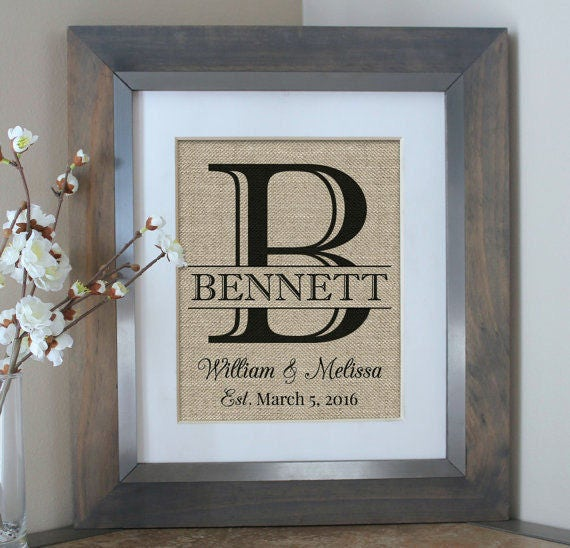 Gifts For Wedding Couples: Wedding Gift Personalized Wedding Gifts For Couple Wall Art