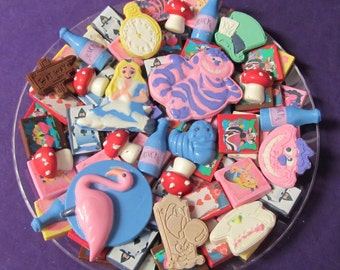 Alice chocolates candy tray