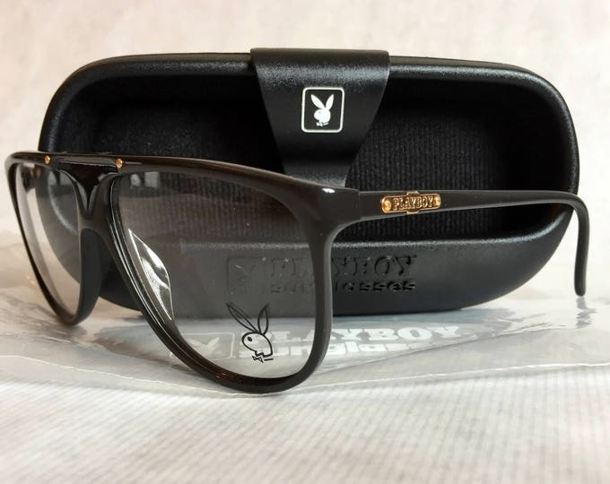 Playboy 4656 Vintage Glasses New Unworn Deadstock with Original Playboy Carcase