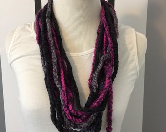 Braided Layer Infinity Cowl #adornments