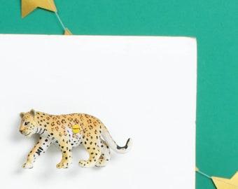 Leopard Decorative Knob - Decorative knob - Animal furniture knobs - Animal drawer knobs - Leopard print - Leopard gift - Leopard print gift