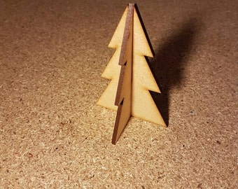 Christmas wooden decoration