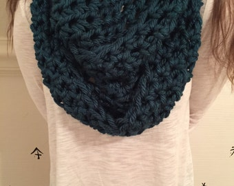 Crochet Infinity scarves, regular scarves made to order