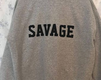 Vintage 'Savage' Sweatshirt