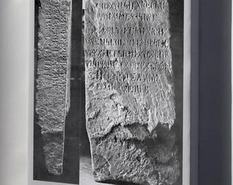 Canvas 24x36; Kensington Runestone