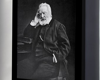 Canvas 16x24; Victor Hugo Author Of Les Miserables