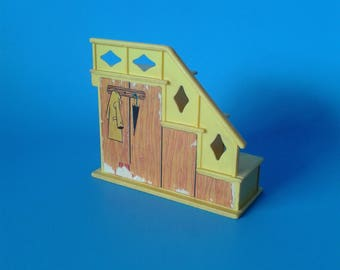 "Fisher Price Little People "" #952 Family House Stairs "" 1970's"