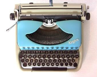 typewriter kolibri etsy. Black Bedroom Furniture Sets. Home Design Ideas