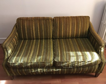 Mid Century Love Seat Sofa