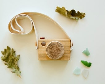 Toddler Toy Wood Camera/Baby Gift / Kids Gift/ Wood Toy