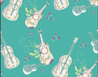 Art Gallery - Anna Elise - Let it Be Breeze - ANE-77503 - Bari J - Guitars - Aqua - Southwestern