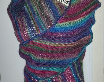 Multi Colored Shawl