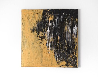 Acrylic 40 x 40 'gold break'