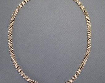 14K Mesh Chain c1860 #93