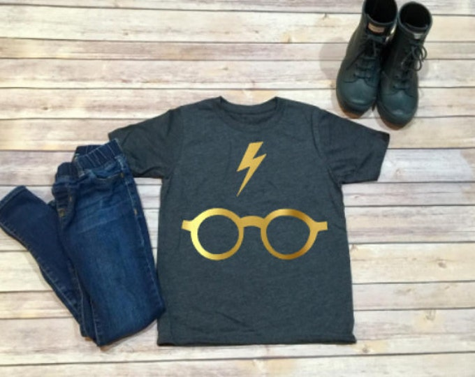 Harry Potter T- Shirt - Big Kids - Disney Trip Shirt - Universal Studios - Gift for Kid - Unisex Kid Shirt - Girl Shirt - Boy Shirt