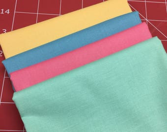 Solid color 1/4 yard cuts
