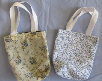 Blue Mini-Tote Bag Set