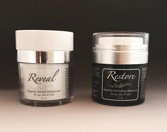 NEW Reveal & Restore Facial Moisturizer Set