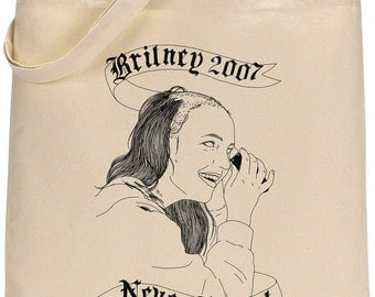 BRITNEY 2007 tote bag - limited edition