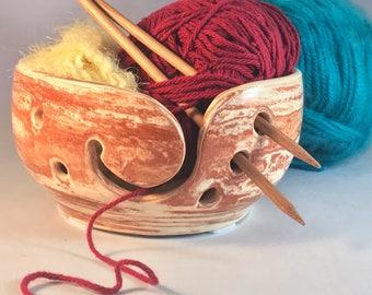 Neriage, Two Toned Ceramic Yarn bowl