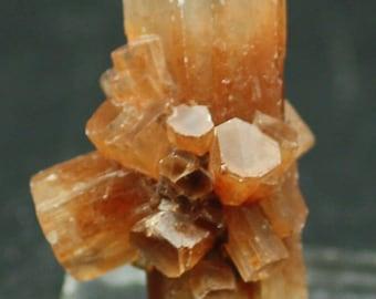 ONE specimen of Clear to orange Aragonite crystal Clusters, Mineral Specimens for Sale
