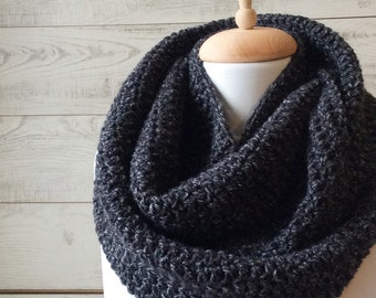 Gifs for him, Knit scarf, cowl, mens scarf, infinity scarf, knit scarf, mens scarf / Many Colors / FAST DELIVERY