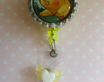 Pokemon Pikachu Inspired Badge Reel