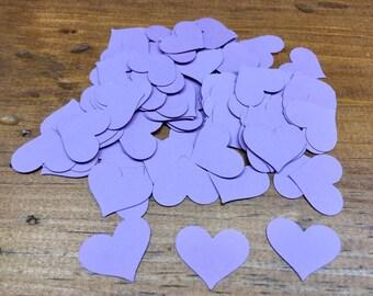 Purple Heart Confetti - Love Heart Confetti - Heart Confetti - Wedding Confetti - Bridal Shower - Baby Shower - Paper Confetti