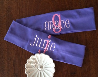 Personalized Monogrammed Stretch Headband