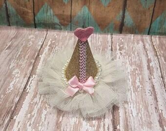 Birthday Hat Hairclip