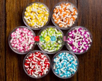 Dollhouse Miniatures Colorful Lollipop Stick