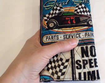 Racing Car Print Wallet