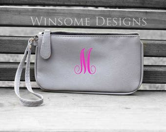 Personalized Purse-Monogram Purse-Monogrammed Purse-Wristlet-Monogram Wristlet-Monogrammed Wristlet-Clutch-Monogram Clutch-Coin Purse-Makeup