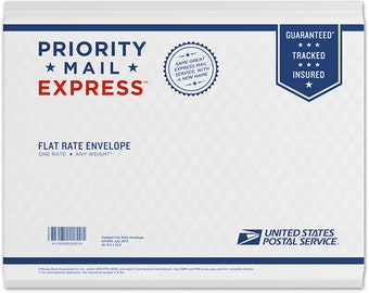 USPS Express Mail 1-2 Day Shipping