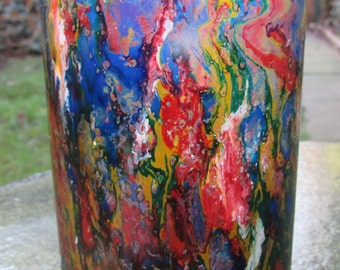 Colourful Marbled Glass (single)