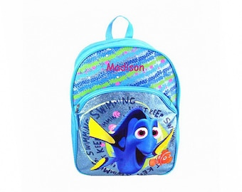 Personalized Disney's Finding Dory Glitter Character Backpack - 16 Inch