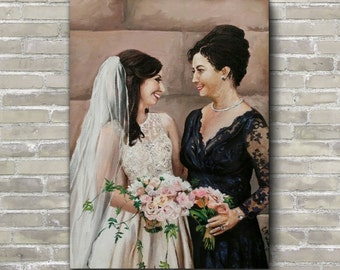 Custom Wedding Paintings (from Photographs)