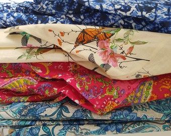 Kimono in cotton prints