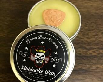 Bedlam Mustache Wax
