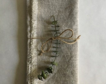linen napkins, set of 2