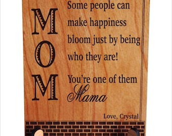 Daughter to Mom Gift, Mother's Day Gift, Personalized Appreciation Gift,Thank you Mom Birthday Gift, Mother's Gift, Son to Mom Gift, PLM021