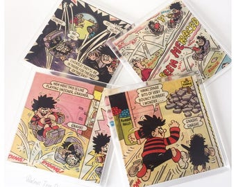 Dennis the Menace Vintage Comic Coasters