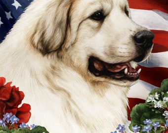 Great Pyrenees House Flags