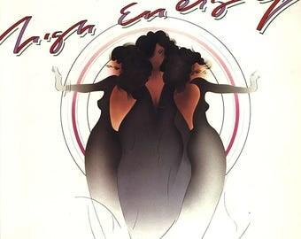 """The Supremes - """"High Energy"""" vinyl"""