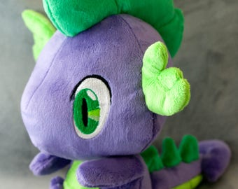 Spike Dragon My Little Pony Friendship is Magic Inspired Plush MADE TO ORDER