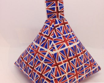 Union Flag / Union Jack Pyramid Doorstop